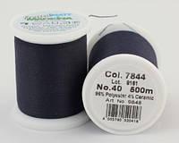 7844/9848 Frosted MATT екстра матові вишивальні нитки, 96% поліестер, 4% кераміка, 500 м