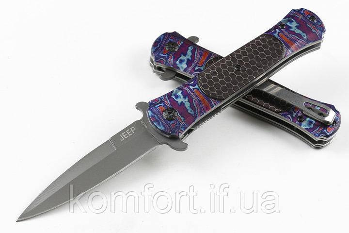 Карманный складной нож Jeep DA145 / АК-211 (20 см)