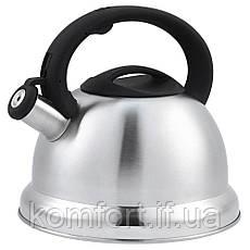 Чайник зі свистком UNIQUE UN-5305 3,5 л, фото 3