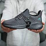 Adidas Alphabounce Instinct Grey (Сірі), фото 5