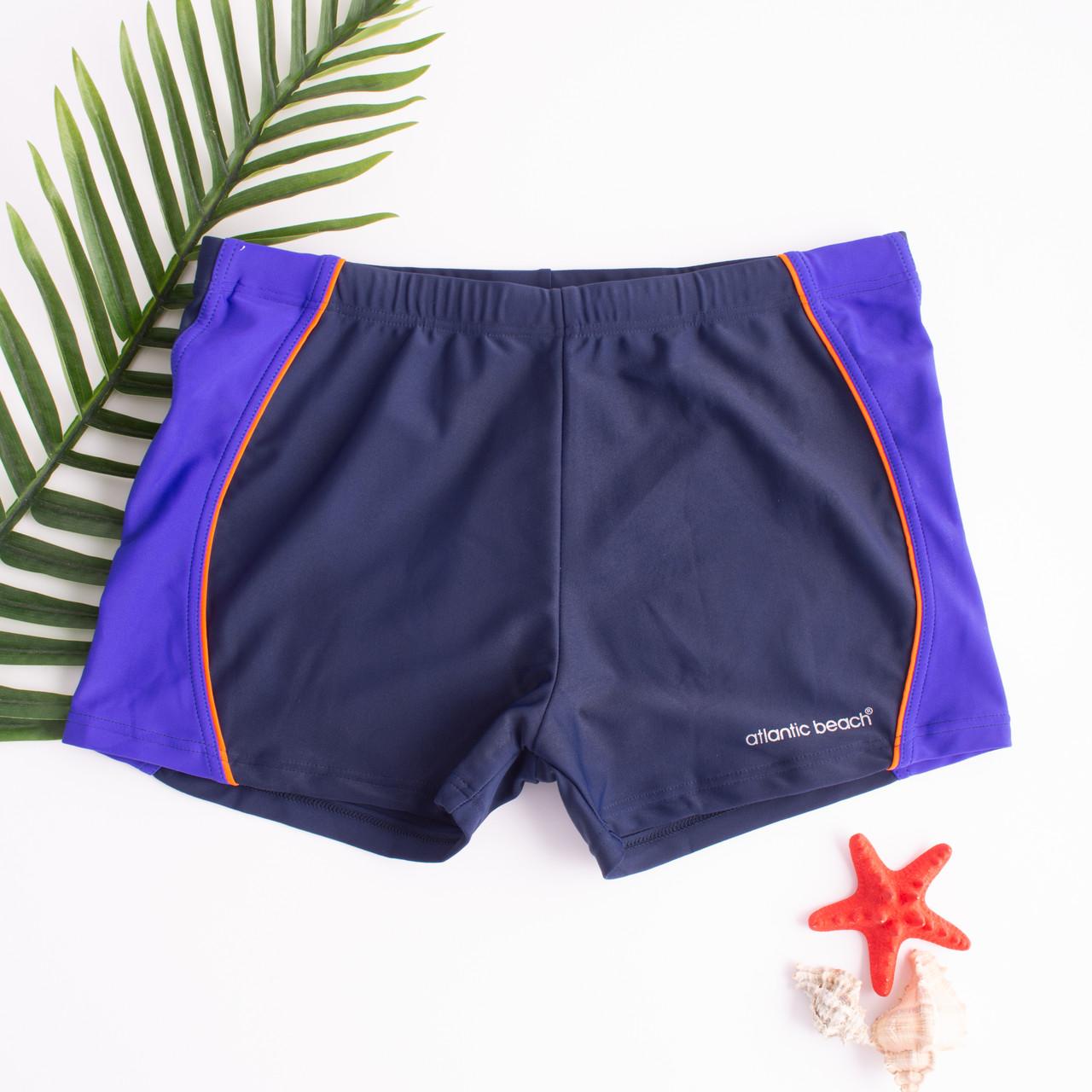 Чоловічі плавки шорти Темно-Синій /Фіолетовий