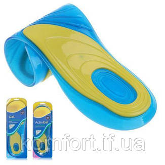 Гелеві устілки для взуття Activ Gel Men Чоловічі, фото 2