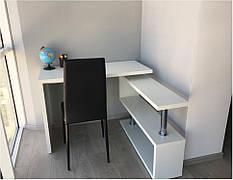 Стол компьютерный  угловой СКТ-1 Микс мебель, цвет дуб атланта