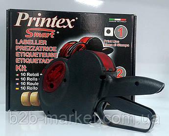 Етикет пістолет SMART 2612-8 (в наборі: етикет-стрічка 10 рул.+1 фарбувальний ролик)