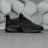 Adidas Alphabounce Instinct Black (Черные), фото 3