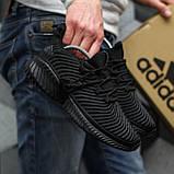 Adidas Alphabounce Instinct Black (Черные), фото 5