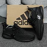 Adidas Alphabounce Instinct Black (Черные), фото 8