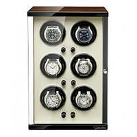 Шкатулка Salvadore для подзавода 6 часов SL/3060-BRW 6X6