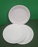 Одноразові тарілки паперові 170мм діаметр (100 шт)