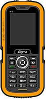 Мобильный телефон SIGMA Х-treme IP67 Black/Orange