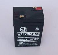 Аккумулятор 6 Вольт, 6 Ампер-час для аварийного энергоснабжения