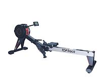 Гребной тренажер полупрофессиональный тренажер для занятия спортом дома TopTrack K7199-3 до 150 кг с дисплеем.