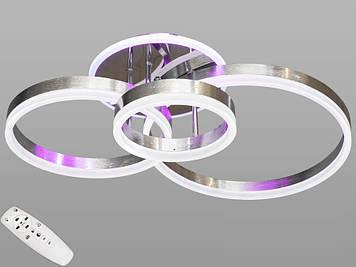 Люстра светодиодная  с диммером 90W