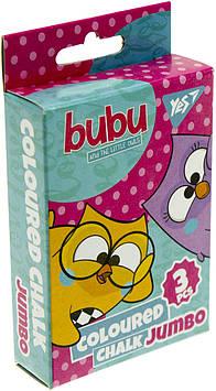 """Крейда кольор. """"Yes"""" №400386 3шт Jumbo Bubu"""