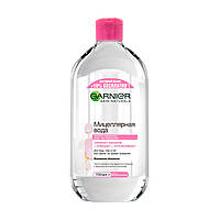 Мицеллярная вода для очищения лица, глаз и губ Garnier Skin Naturals, 700 мл