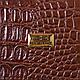 Женская сумка из искусственной кожи под рептилию ETERNO (ЭТЕРНО) ETMS35212-10-1, фото 7