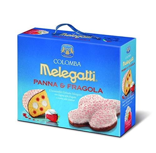 Кулич Пасхальный Коломба с клубникой и сливками Colomba Melegatti Panna & Fragola 750 г Италия