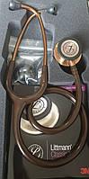 Стетоскоп  серії Littmann  Classic III™, шоколадний з бронзовою головкою NEW