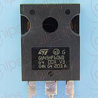 IGBT 600В 45А STM STGW45HF60WD TO247