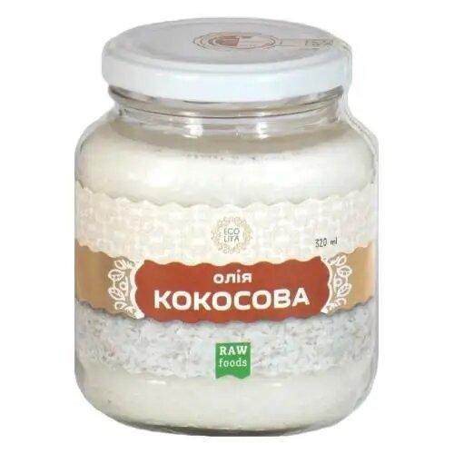 Олія кокосова 300мл ТМ Еколія