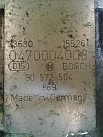 Бу топливный насос высокого давления для Opel Astra G 2002-2004 р. 1.7 TD, BOSCH 0470004003, 90 572 504 869, 3, фото 1