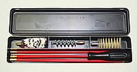 Набор для чистки оружия калибра 12 в черном пенале