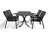 "Комплект мебели для летних кафе ""Таи"" стол (120*80) + 2 лавки Венге"