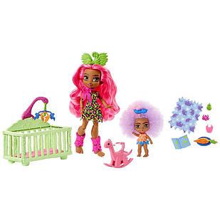 Ігровий набір Печерний клуб Дитяча кімната Mattel Cave Club Wild About Babysitting