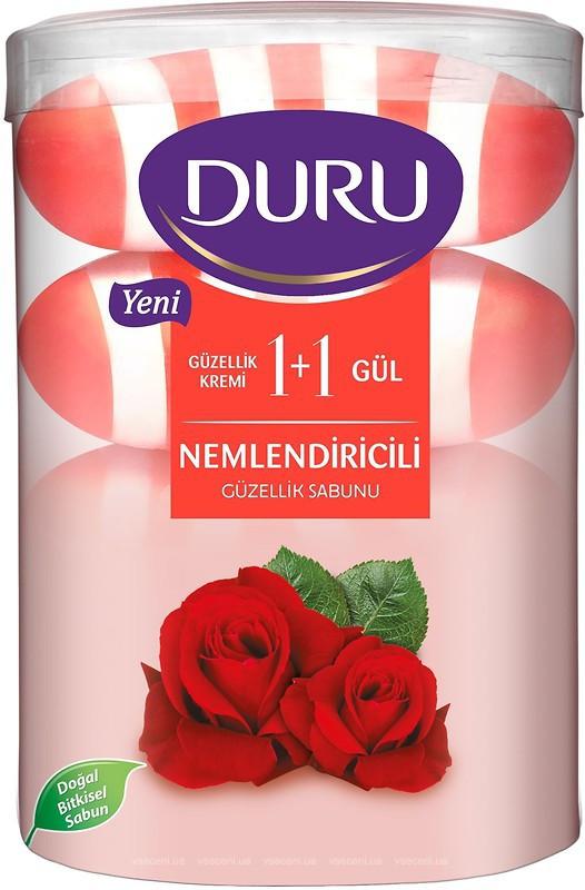 Туалетное мыло DURU Fresh Sensations 4*110 Роза