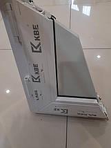 Трехстворчатое ПВХ окно KBE 58 с фрамугой, фото 2