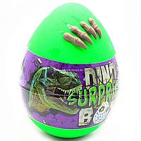 Игровой набор Danko Toys Dino WOW Box яйцо динозавра с аксессуарами 30х20х20 см, украинский (DSB-01-01U)