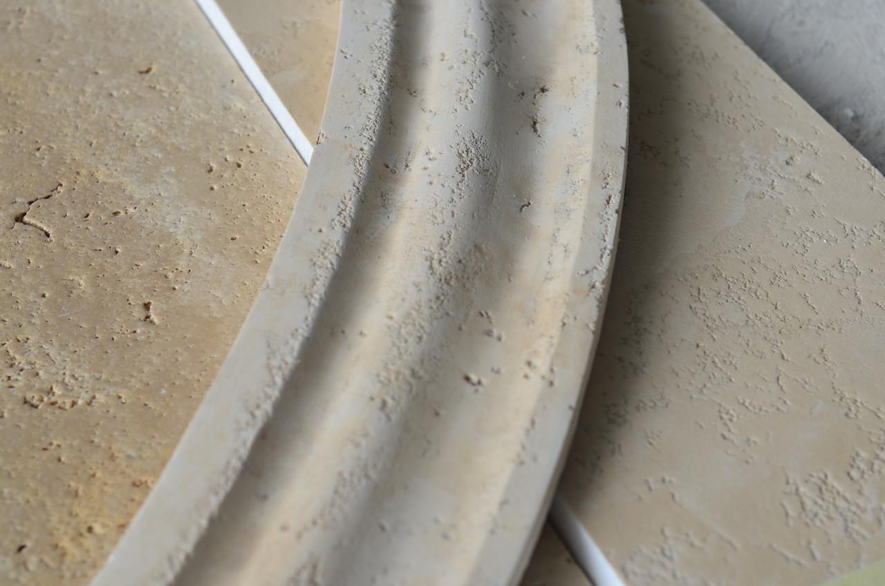 Фасадний декор під травертин