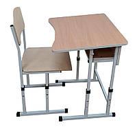 Комплект парта и стул ШКОЛЬНИК, фото 1