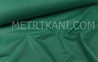 Однотонная польская бязь зеленого цвета 135 г/м2  №1478