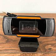 Веб камера C12 с микрофоном для компьютера ПК ноутбука вебка usb web camera hd вебкамера