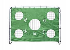 Футбольні ворота  Sport-Tech 240 x170cm + Мат