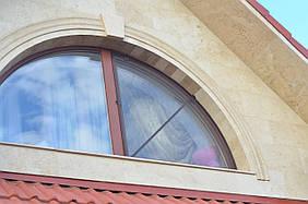 Арка фасадная - обрамление окна простое