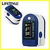 Пульсоксиметр напалечный Pulse Oximeter / Пульсометр оксиметр беспроводной + Подарок крепления на руку