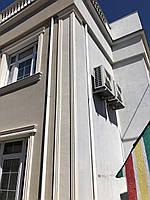 Пилястры фасадные, угловые, в/ш, мм: 450 / 50 / 2100 комплект колонны
