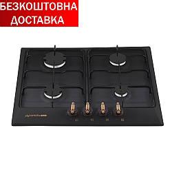 Газовые варочные поверхности  PFE 644 BLACK RUSTICO Черный
