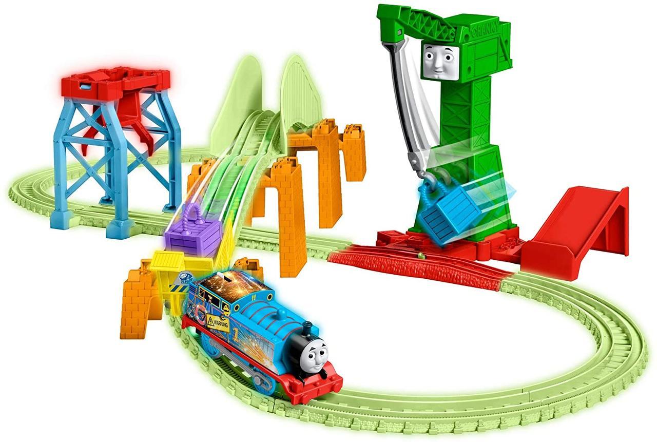 Железная дорога Томас и его друзья Светящаяся в темноте Ночная доставка Fisher Price Thomas & Friends GGL75