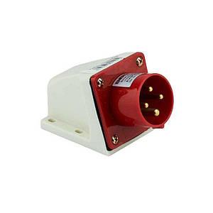 Вилка силова стаціонарна ENERGIO 514(3P+PE) 16A 380В IP44