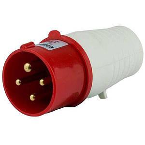 Вилка силова переносна ENERGIO 034(3P+PE) 63A 380В IP67