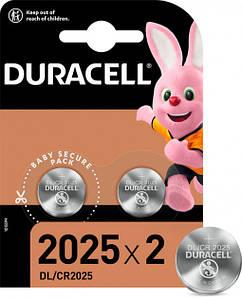 Батарейка DURACELL DL2025 DSN (2шт/блистер)