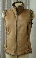 Жилет женский теплый дубленка без рукавов бренд Miss Posh р.46 4576, фото 1