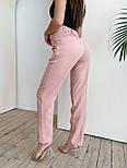 Стильні штани жіночі на високій посадці, фото 4