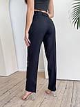 Стильні штани жіночі на високій посадці, фото 2