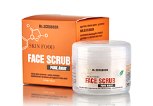 Скраб для лица Skin Food Pore Away с маслом моркови Mr.SCRUBBER