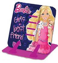 """Подставка для книг цветная металлическая """"Barbie"""" 1 Вересня"""