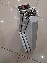 Двустворчатое пластиковое окно KBE 70, фото 3